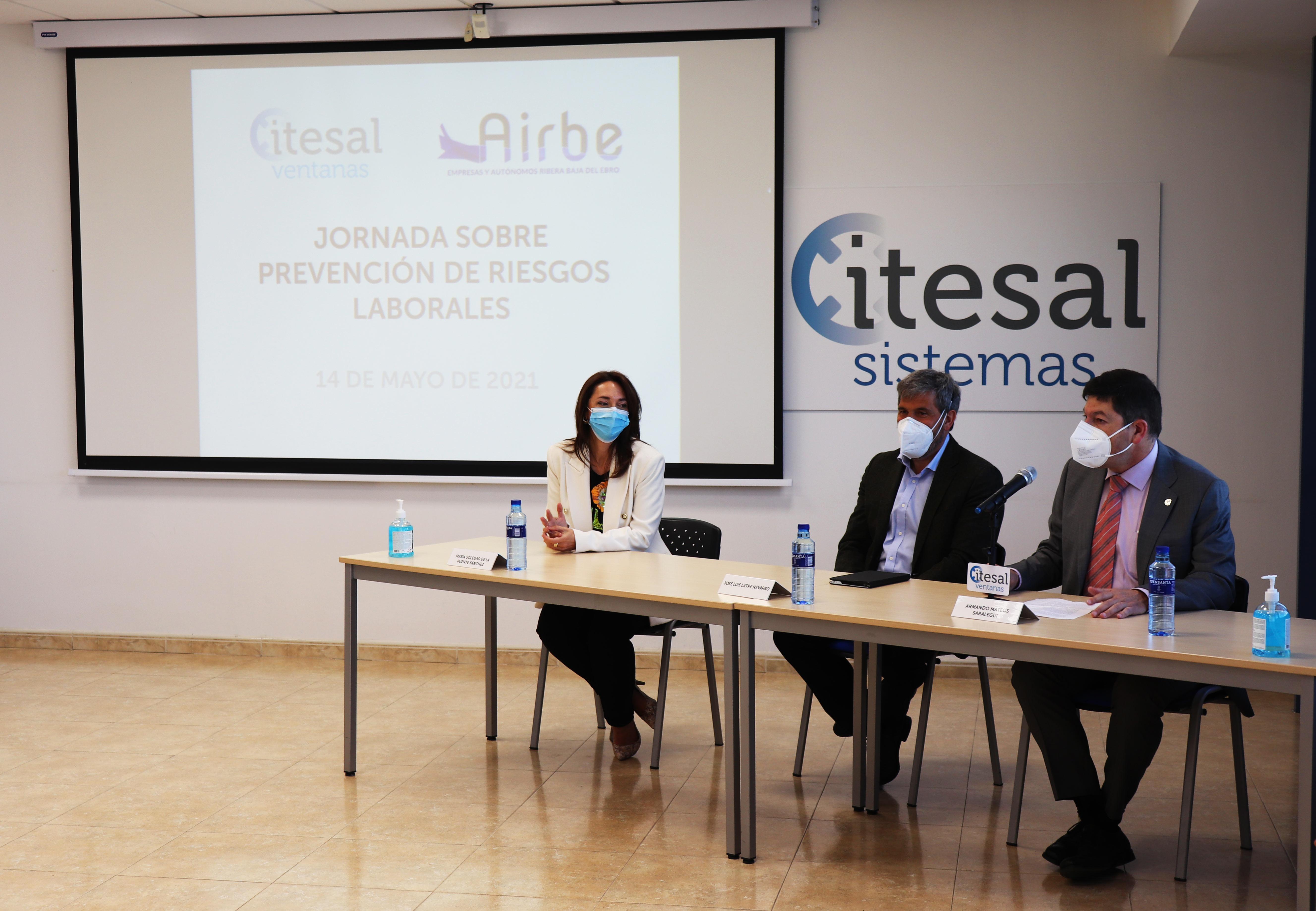 Galeria Itesal organiza una jornada de Prevención de Riesgos Laborales junto con AIRBE - 1