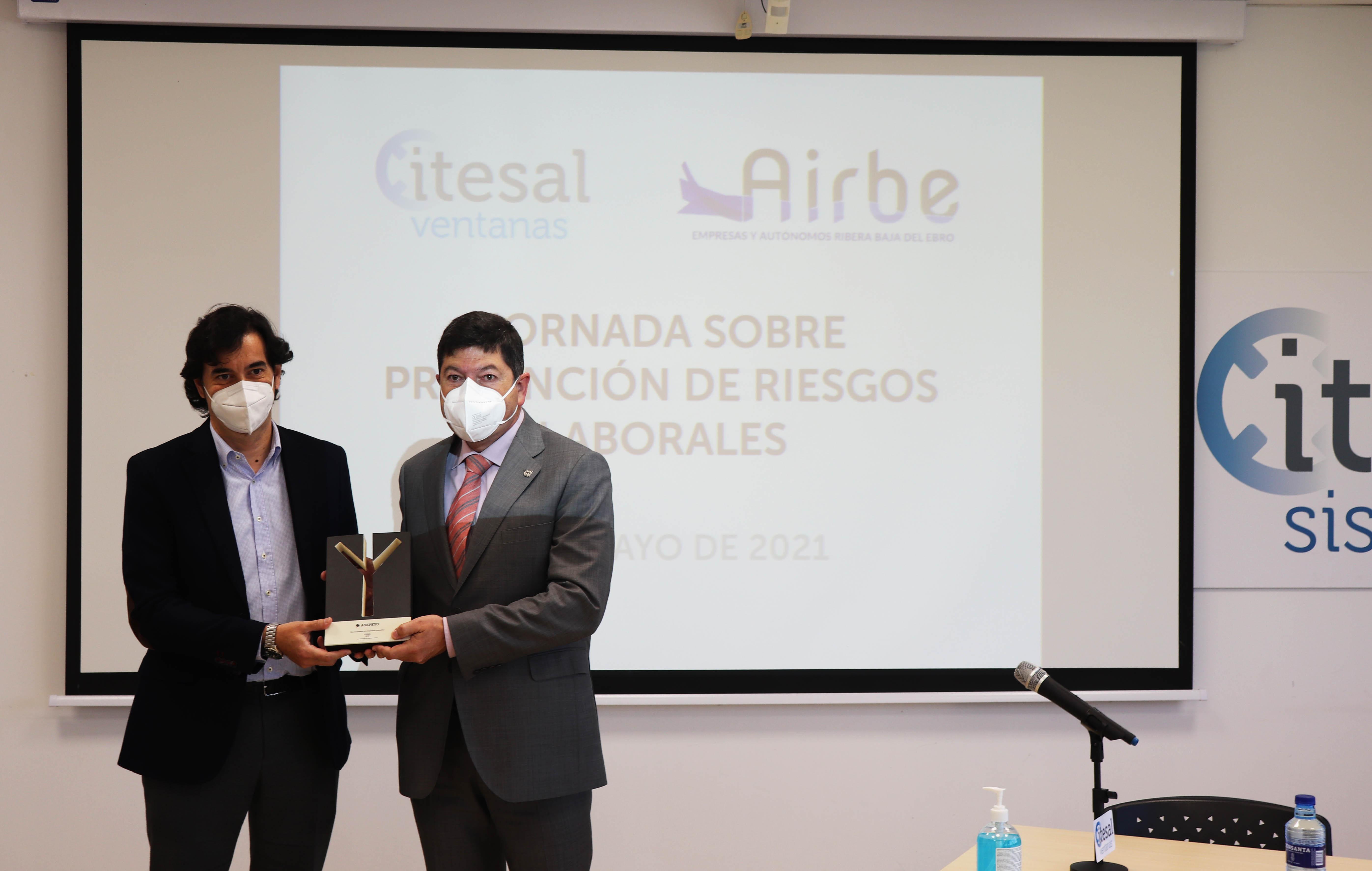 Galeria Itesal organiza una jornada de Prevención de Riesgos Laborales junto con AIRBE - 3