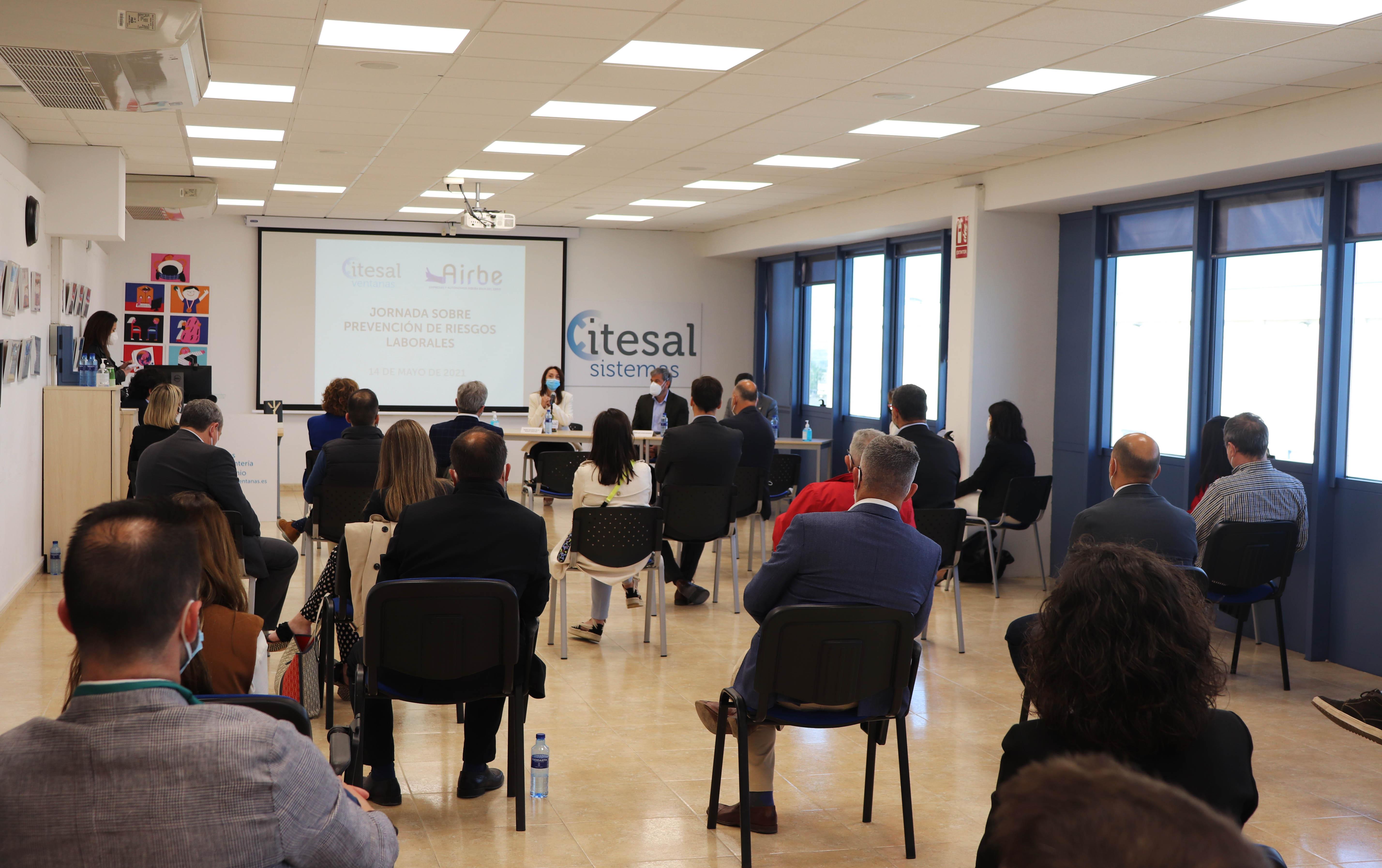 Galeria Itesal organiza una jornada de Prevención de Riesgos Laborales junto con AIRBE - 4