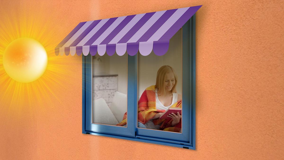 El Factor Solar del Vidrio en una ventana