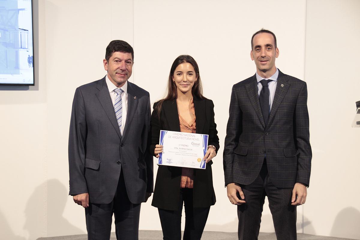 Andrea García González Gana el I Primer premio de Arquitectura Novel de Itesal Ventanas