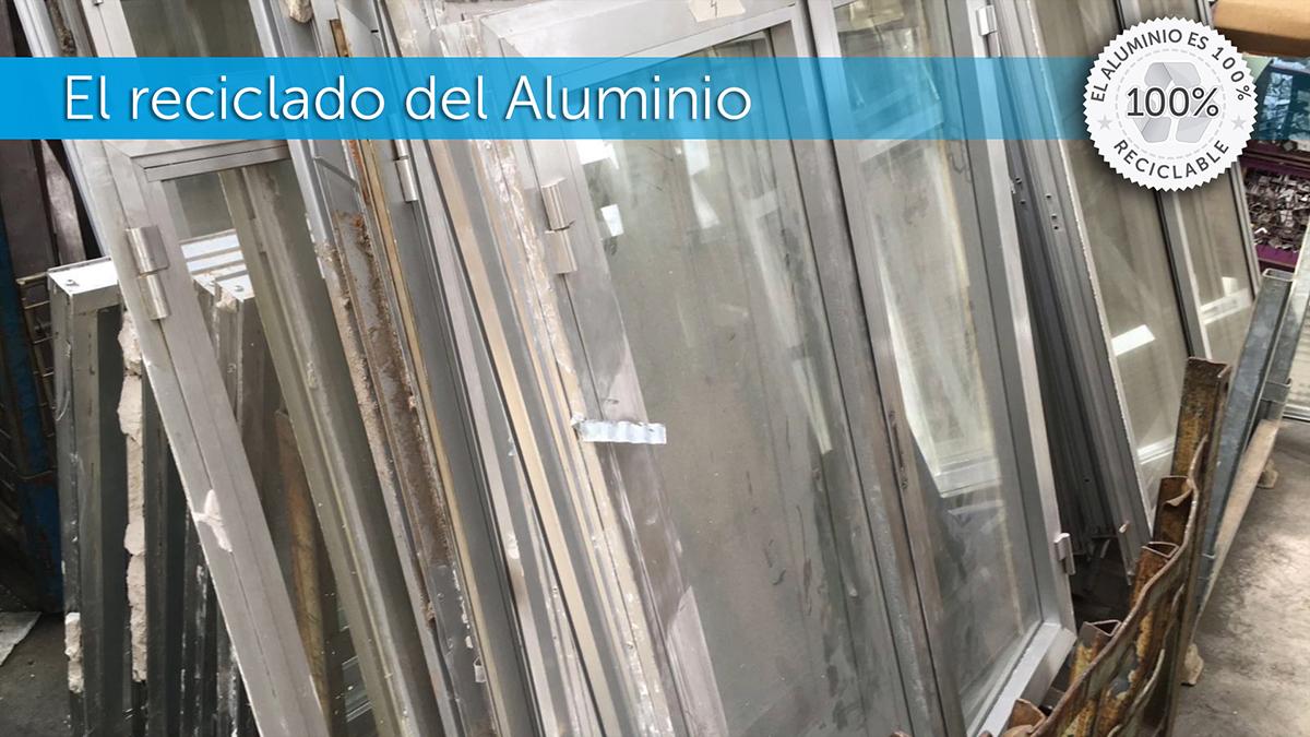 El proceso de reciclado del Aluminio