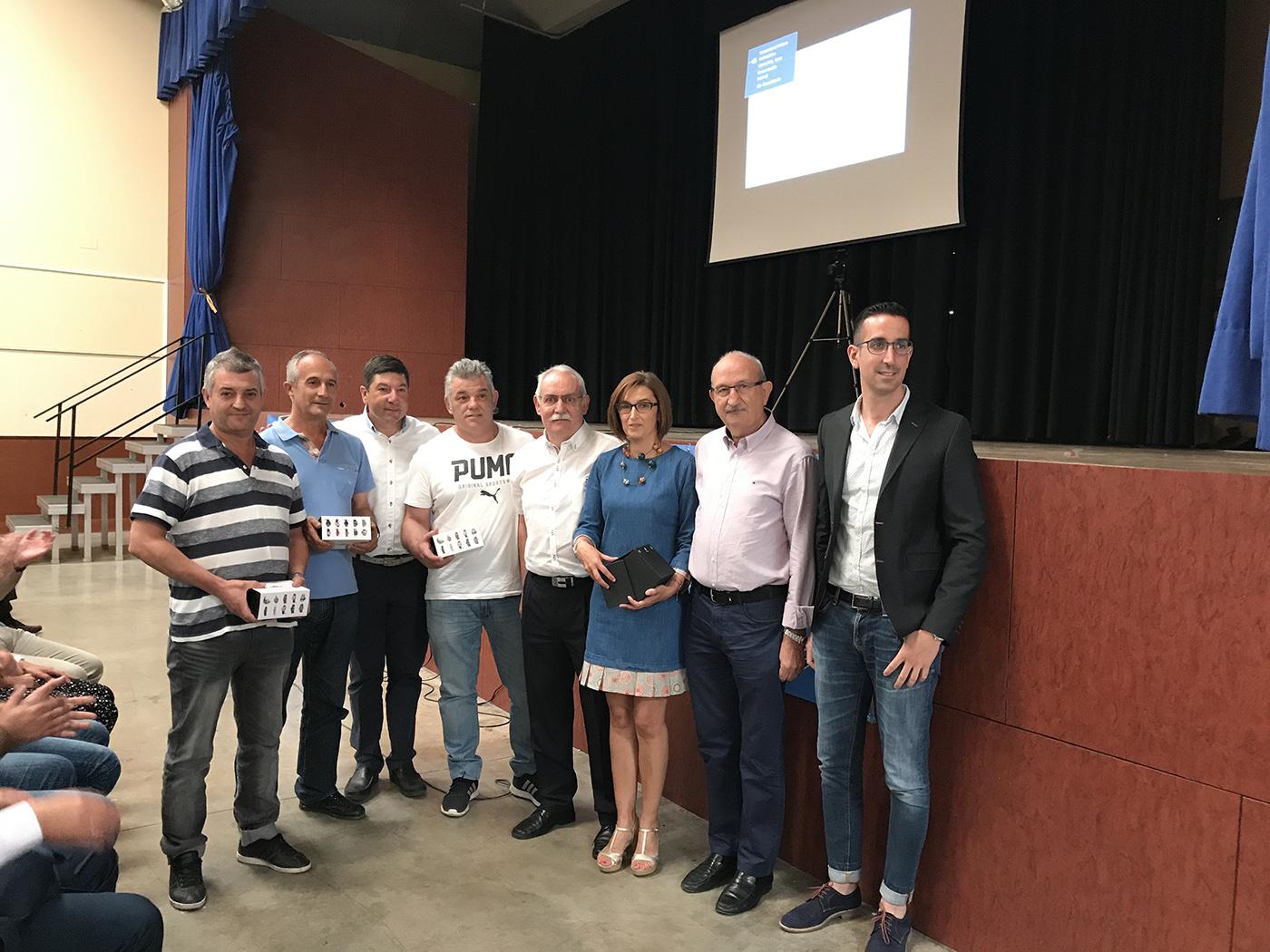 Itesal inicia su 25 aniversario en Pina de Ebro.
