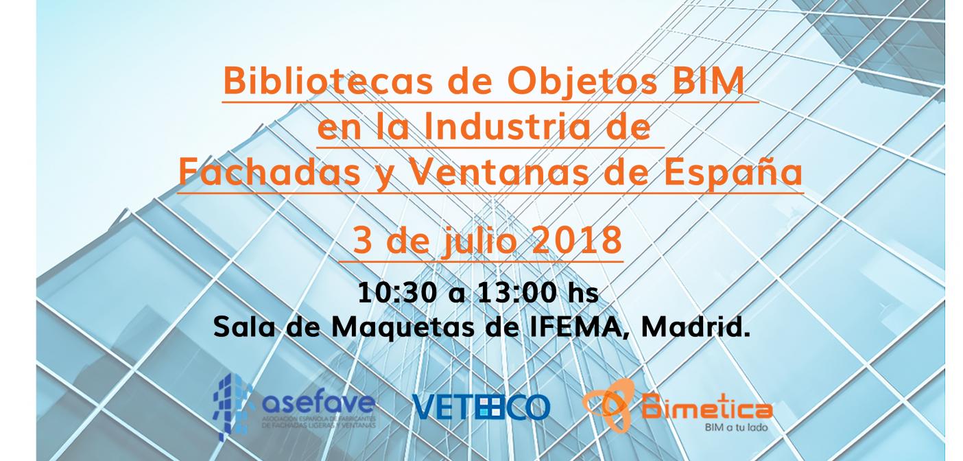 Bibliotecas de Objetos BIM en la Industria de Fachadas y Ventanas de España