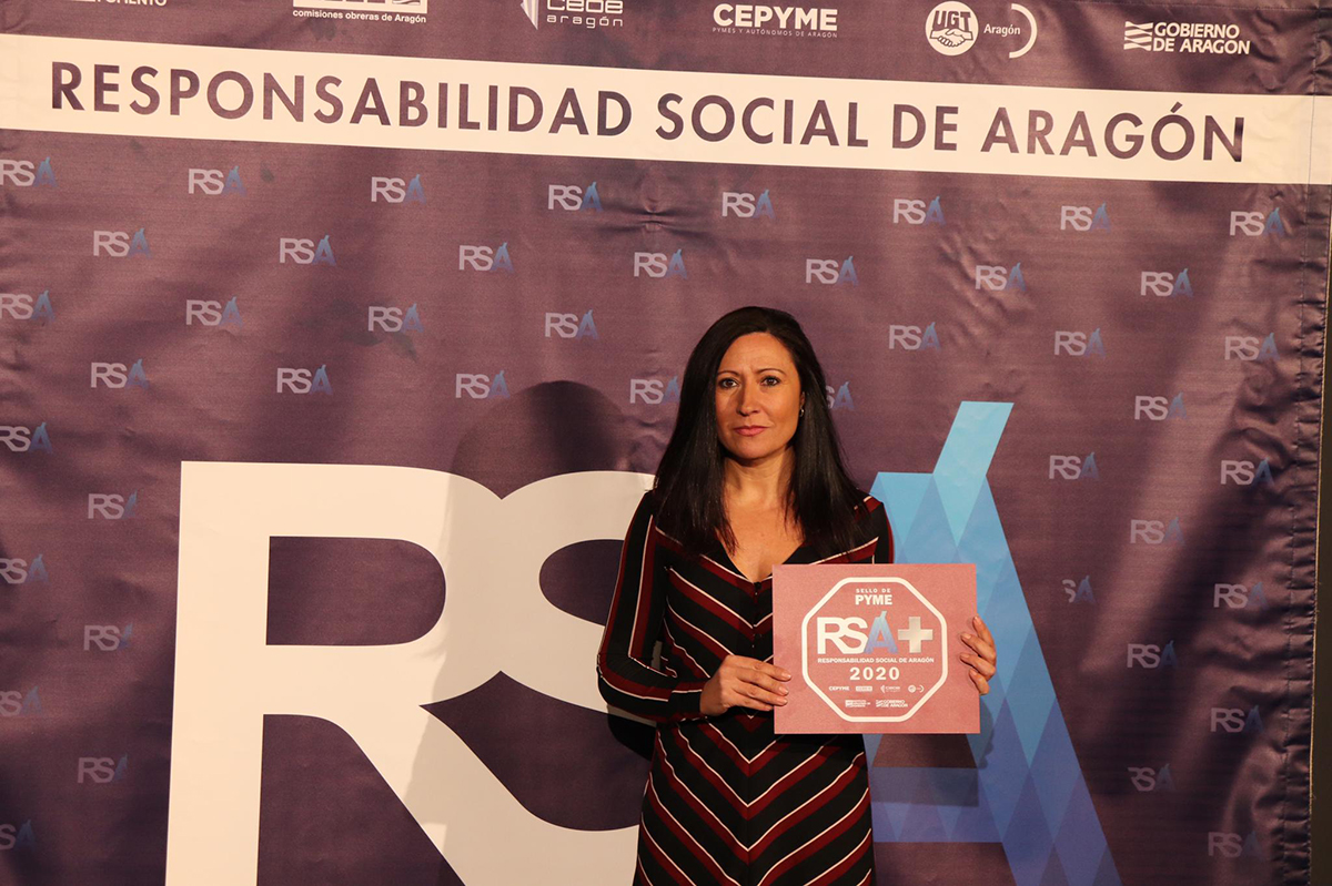 Itesal renueva por tercer año el sello de RSA+  otorgado por Aragón Empresa