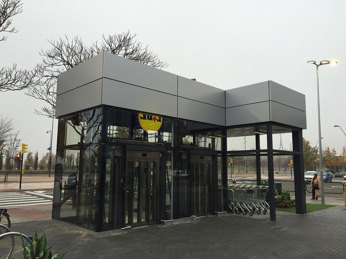 Galeria Supermercado LIDL, Almozara, Zaragoza - 3 ?>