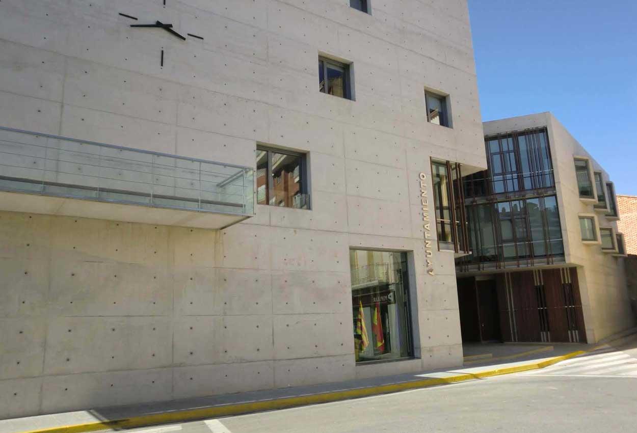 Ayuntamiento de Binéfar, Huesca